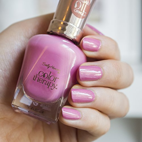 Amazon.com: Sally Hansen Color Therapy Nail Polish, Mauve Mantra ...