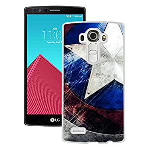LG G4 Case,100% brand new Captain America White Case For LG G4