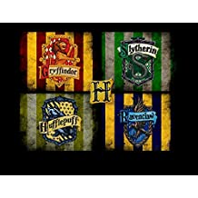 Harry Potter Hogwarts Edible Image Photo Cake Topper Sheet Personalized Custom Customized Birthday - 1/4 Sheet - 78028 by A Birthday Place