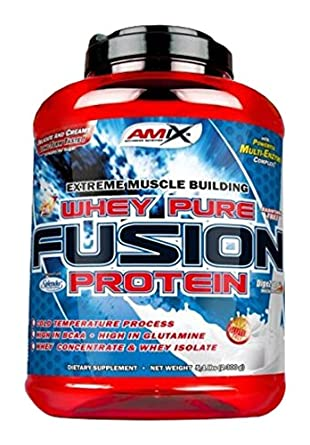 Amix Nutrition Proteina de suero con sabor de fresa - 2300 gr