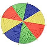 Parachute Play Tent 3.2ft Kids Parachute with 8 Handles