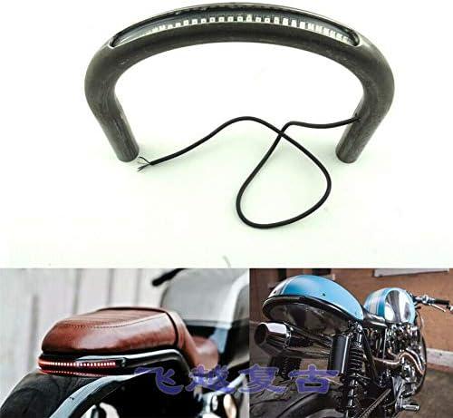 1 Pc 7/8 Motorcycle Rear Seat Frame Hoop Loop with LED Brake Turn ...