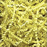 Citron Crinkle Cut Paper Shred 10 lbs/Case