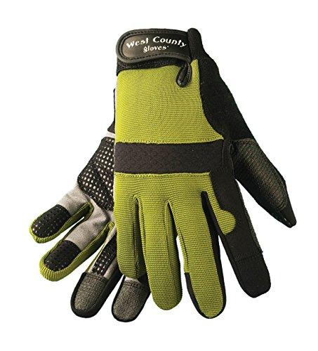 West County Gardener 044S/M Women's Landscape Glove, Medium, - County West