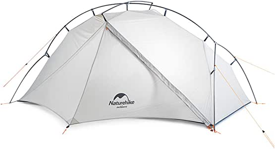 Naturehike VIK Ultralight Single Man Tent 15D Nylon Single Layer Lightweight One Person Backpacking Tent for Camping Hiking