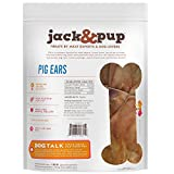 Jack&Pup Whole Pig Ears for Dogs - Extra Thick
