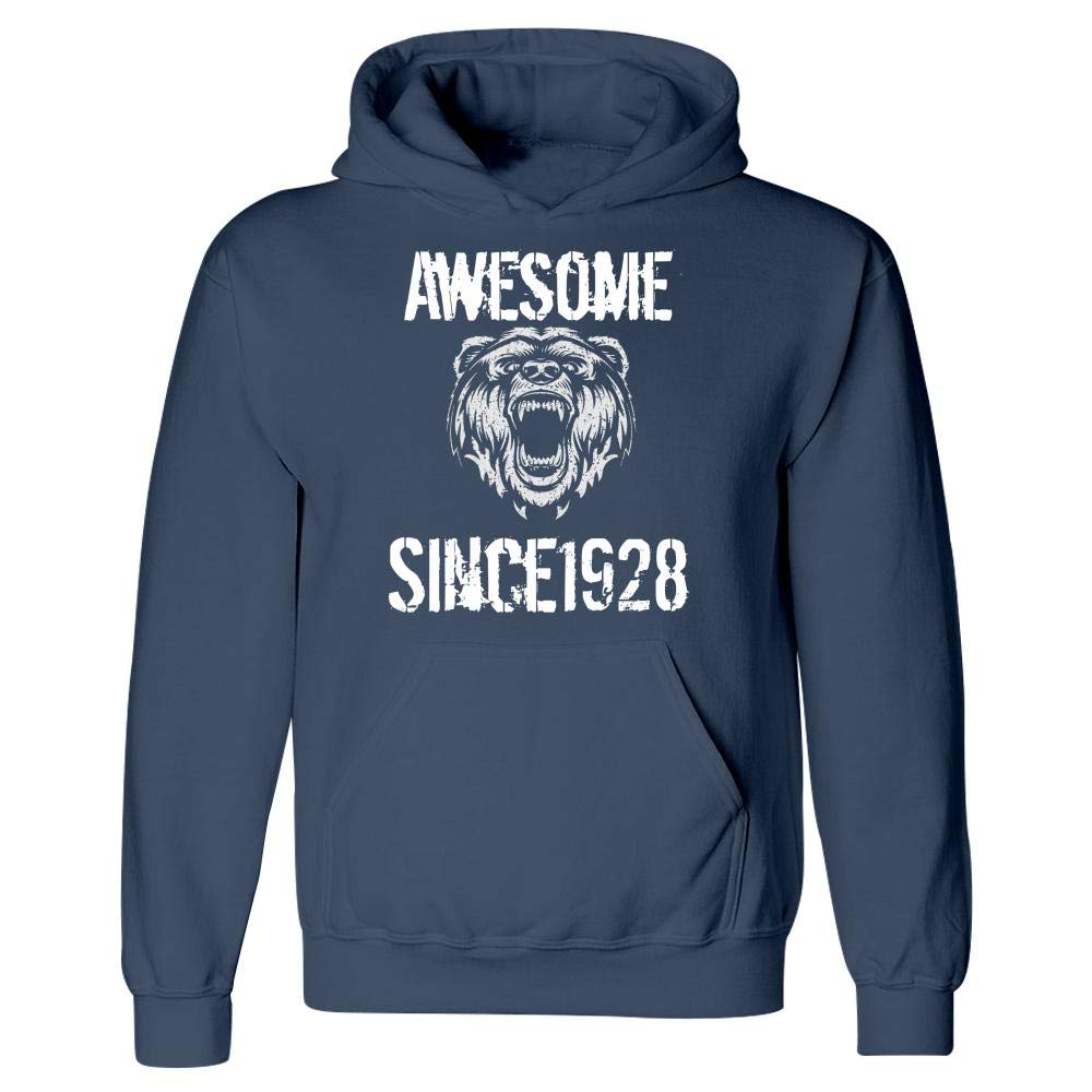 MESS 1928 Birthday Birth Date Awesome Since 1928 Hoodie