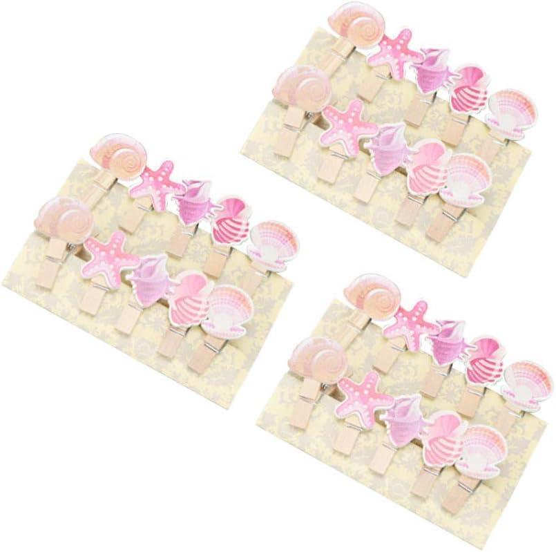 Amosfun 30Pz Mini Mollette di Legno Mollette di Legno Foto Carta Piolo Mollette Artigianali Mollette per Alimenti Mollette per Bucato per Carta Scrapbooking