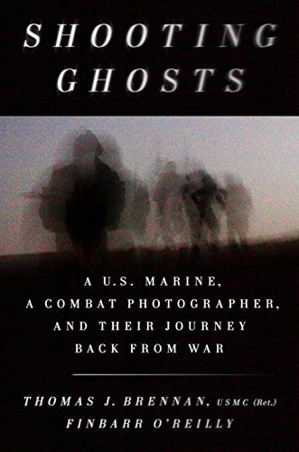 Shooting Ghosts: A U.S. Marine, a Combat Photographer, and Their Journey Back from War cover
