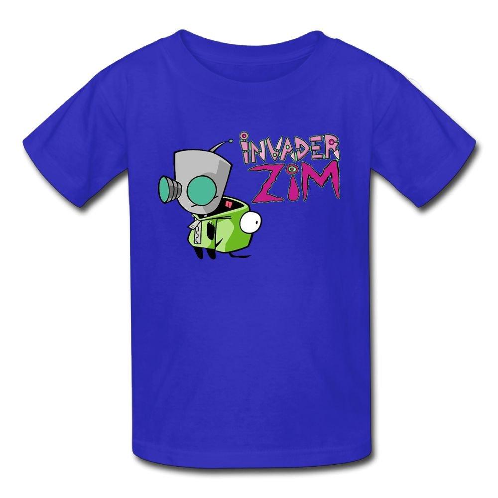 6-24 Month Baby T-Shirt Invader Zim Gir Doom Logo Fashion Classic Style RoyalBlue