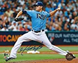 Matt Moore Hand Signed / Autographed Tampa Bay Rays 8 x 10 Photo