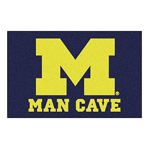 - FANMATS 14668 University of Michigan Nylon Universal Man Cave Starter Rug