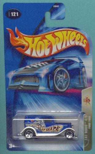 Mattel Hot Wheels 2004 Tat Rods 1:64 Scale Blue 1932 Ford 4/5 Die Cast Car #121 ()