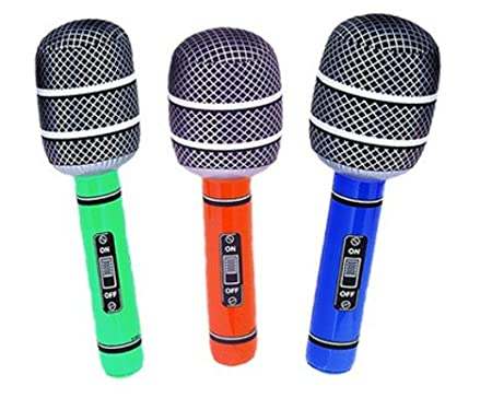 1 x inflable gigante micrófono: Amazon.es: Hogar
