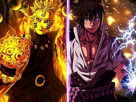 Amazon.com: wv6134 Naruto Uzumaki Sasuke Itachi Uchiha ...