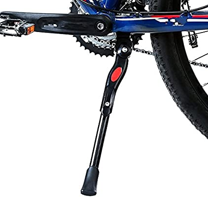 New Sataway Bike Kickstand Adjustable Center Mount Aluminum Alloy Bicycle Kic..