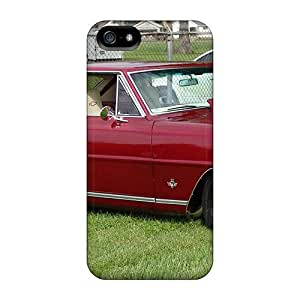 WBundy Case Cover For Iphone 5/5s - Retailer Packaging 67 Chevy Nova Ss Protective Case