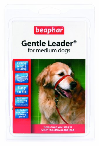 Gentle Large Leader Red - Beaphar Gentle Leader Medium Red