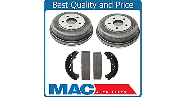 Amazon.com: Mac Auto Parts 143090 Rear Brake Drums and Shoes Kit Set Fits Ford Transit Connect: Automotive