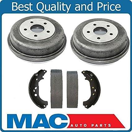 Amazon.com: Mac Auto Parts 143090 Rear Brake Drums and Shoes Kit Set Fits Ford Transit Connect: Automotive