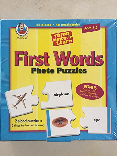 First Words Photo Puzzles