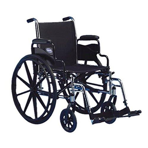 Invacare Tracer SX5 Lightweight Wheelchair Flip Back Desk Le