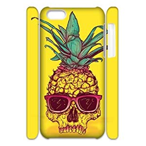 MMZ DIY PHONE CASEPineapple 3D-Printed ZLB590690 DIY 3D Phone Case for ipod touch 5