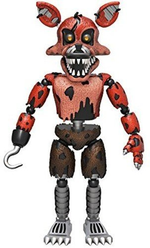 Funko 5  Articulated Five Nights At Freddys   Nightmare Foxy Action Figure