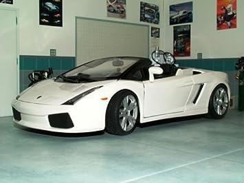 Buy Maisto 1 18 Gallardo Lamborghini Spyder White Online At Low