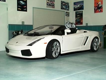 Maisto 1/18 Lamborghini Gallardo Spyder: White