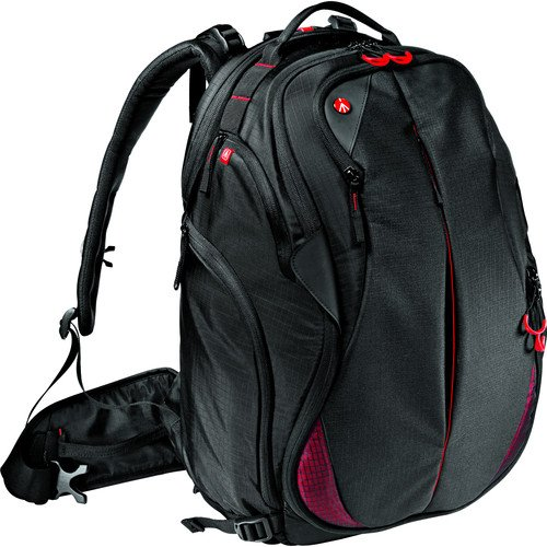 Photo Backpack Pro - Manfrotto Bumblebee-230 PL, Backpack Pro Light, Black, Full-Size (MB PL-B-230)