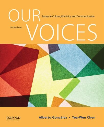 190255234 - Our Voices: Essays in Culture, Ethnicity, and Communication