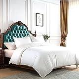 Balichun Duvet Cover Set King Size White Premium