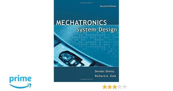 Mechatronics System Design Devdas Shetty Pdf