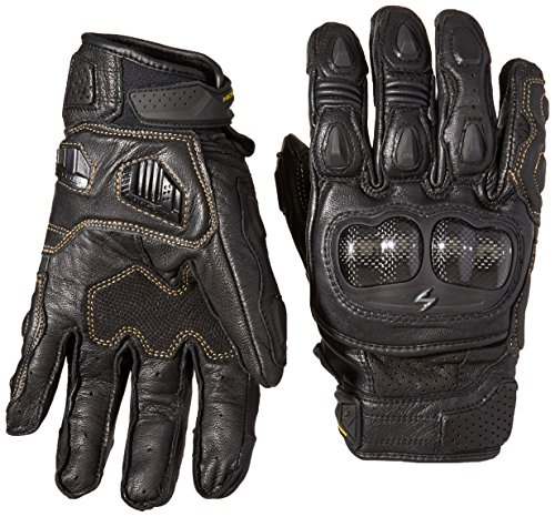 ScorpionExo SGS MKII Men's Short Cuff Sport Gloves (Black, X-Large)