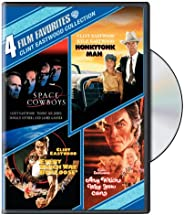 4 Film Favorites: Clint Eastwood (Space Cowboys, Honkytonk Man, Every Which Way But Loose, Any Which Way You C