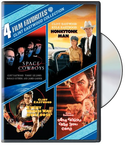 Space Review Cowboys - 4 Film Favorites: Clint Eastwood (Space Cowboys, Honkytonk Man, Every Which Way But Loose, Any Which Way You Can)