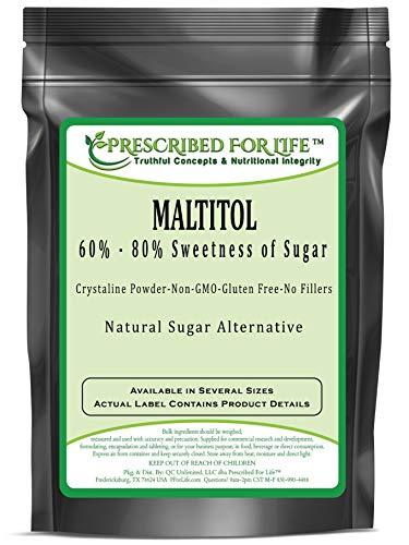 Maltitol - Low Calorie Natural Fine Granular Sugar Alternative - 60%-80% Sweetness of Sugar, 12 oz