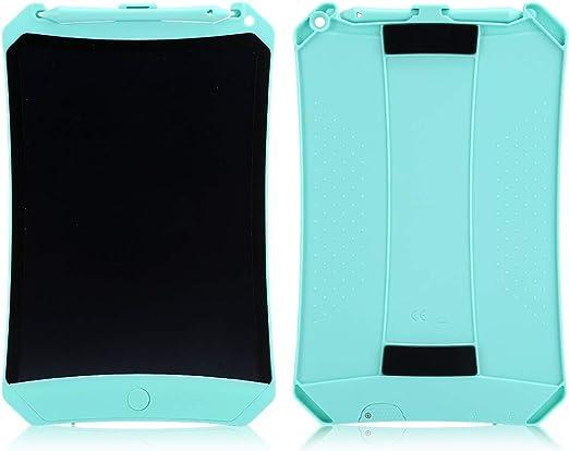 柔軟なLCDディスプレイ放射なしLEDバックライトなし電子描画ボード、ライティングタブレット、友人や家族向けTo-doリストの書き込み、(green)