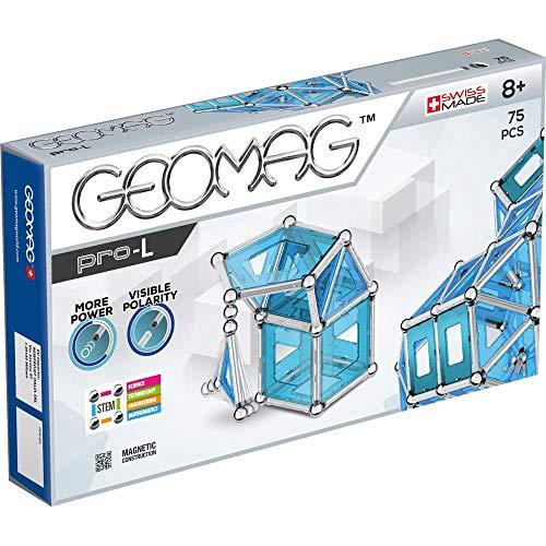 Geomag Pro-L Kit – 75 Piece Magnetic Construction Set