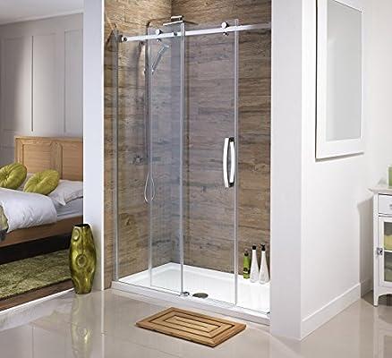Orca® Mampara de ducha deslizante sin marco | Todos los tamaños ...