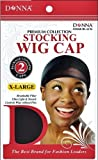 Stocking Wig Cap X-Large - 6 Piece, Extra large, breathable fiber, stretchy, stretchable, ultra light, lightweight, high quality