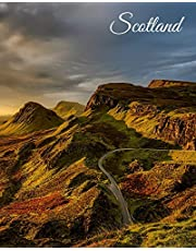 Scotland: Travel Planner, Expense Tracker, Budget Planner & Itineraries, Large Journal