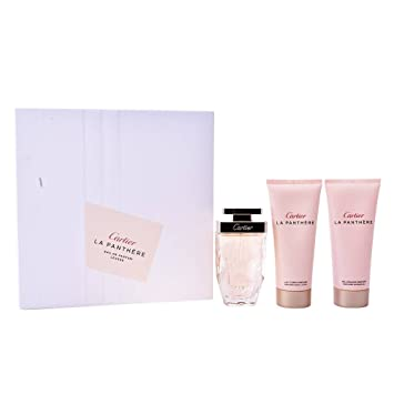 THE CHEST PANTHERE LEGERE 75ml EDP + LECHE CORP 100ML + SHOWER GEL 100ML