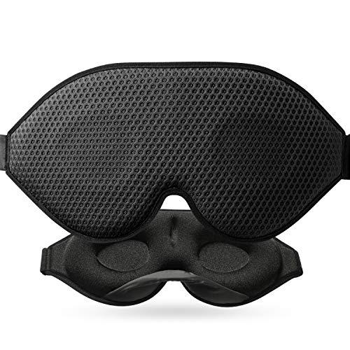 Schlafmaske, Unimi verbesserte 3D konturierte Schalen-Augenmaske1 …
