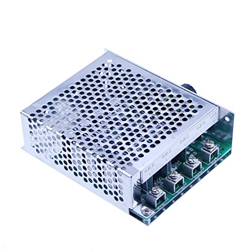 PWM DC Motor Speed Controller 10-55V 60A Motor Drive Module Controller Stepless Speed Switch by NewZoll