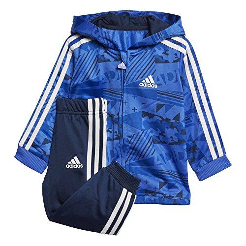 Adidas I und Shiny FZH J–Kinder Badelatschen, Kinder blau