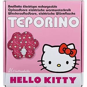 Teporino HK1 - Bolsa de agua caliente con diseño de Hello Kitty, color rosa