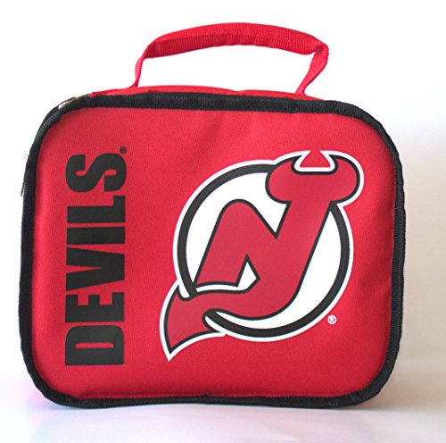 y NHL New Jersey Devils Sacked Insulated Lunch Cooler Bag (Devils Lunch Box)