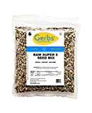 Raw Super 5 Seed Mix, 2 LBS By Gerbs - Top 12 Food Allergy Free & NON GMO - Vegan & Kosher (Pumpkin, Sunflower, Chia, Flax, Hemp Seeds)